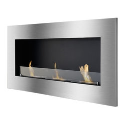 IGNIS - Ignis Bio Ethanol Fireplace Optimum With Safety Glass - *Design Patent Pending - 29/469,476