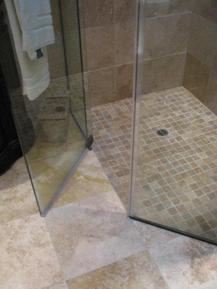 Contemporary Bathroom by Homework Remodels ~ Tri-Lite Builders