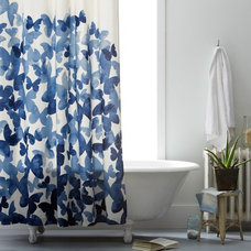 Contemporary Shower Curtains by West Elm