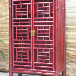 Bamboo cabinet -