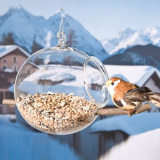 modern bird feeders by Lumens