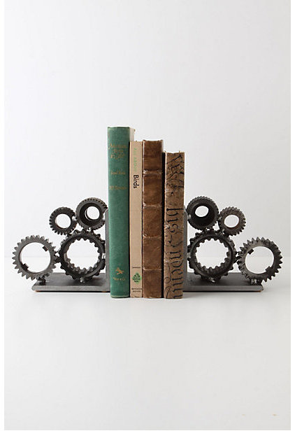 Eclectic Bookends by Anthropologie