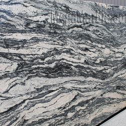Black Spectrus Granite Slab (Polished) - Black Spectrus Granite Slab (Polished)