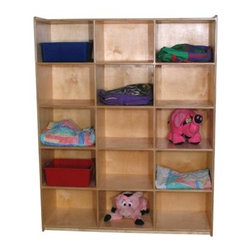 Strictly for Kids Preferred Mainstream Jumbo Cubby Unit for 15 - About Strictly for KidsBased in ...