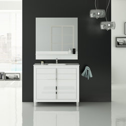 Roma 40 inch bathroom vanity. - Made in Spain.