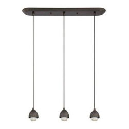 Westinghouse - Westinghouse 3-Light Oil Rubbed Bronze Adjustable Mini Pendant 6301300 - Shop for Lighting & Fans at The Home Depot. This Westinghouse Lighting 3-Light Oil Rubbed Bronze Adjustable Mini Pendant offers an easy way to customize your lighting. The ribbed-edge canopy, slender cords, and shade rings feature handsome oil rubbed bronze finish that complements traditional and contemporary decors. Westinghouse's customizable fixtures inspire creativity for quick and easy home upgrades. Select your fixture and finish, choose your shade, and enjoy your new custom lighting. The fixture works especially well above a kitchen bar or dining area. Wherever you place it, you will enjoy the mini pendant's versatile style. This adjustable fixture is 64-5/8 in. x 23-1/2 in. x 4-1/2 in. (H x W x D) and has a maximum cord length of 50 in. It uses 3 medium-base soft white A19 light bulbs, 60-watt maximum (not included). This Westinghouse Lighting interior fixture is UL listed for safety. It is backed by a 5-year manufacturer's warranty against defects in materials and workmanship.