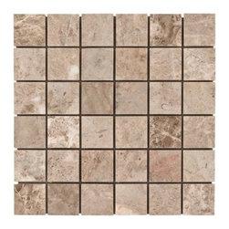 Crema Luna Marble Mosaic -