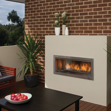 Modern Outdoor Fireplaces by Regency Fireplace Products