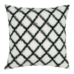 Rizzy Home 18 x 18 Cream Pattern Decorative Throw Pillow - The Rizzy Home 18 x 18 Cream Pattern Decorative Throw Pillow is a fresh take on the classic diamond pattern. This decorative throw pillow has a cotton cover and comes in your choice of color options. It includes a hidden zipper and removable polyester insert. Machine or hand wash the cover in cold water and lay flat to dry.About Rizzy HomeRizwan Ansari and his brother Shamsu come from a family of rug artisans in India. Their design, color, and production skills have been passed from generation to generation. Known for meticulously crafted, handmade wool rugs and quality textiles, the Ansari family has built a flourishing home-fashion business from state-of-the-art facilities in India. In 2007, they established a rug-and-textiles distribution center in Calhoun, Georgia. With more than 100,000 square feet of warehouse space, the U.S. facility allows the company to further build on its reputation for excellence, artistry, and innovation. Their products include a wide selection of handmade and machine-made rugs, as well as designer bed linens, duvet sets, quilts, decorative pillows, table linens, and more. The family business prides itself on outstanding customer service, a variety of price points, and an array of designs and weaving techniques.