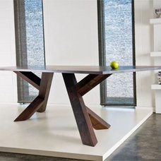 The Iconoclast Dining Table by Canadian furniture Company IZM - Modern Contempor