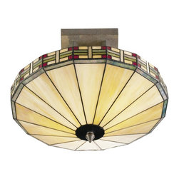 Dale Tiffany - New Dale Tiffany 2-Light Ceiling Fixture - Product Details