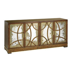 Currey and Company - Currey and Company South Houston Credenza Traditional Cabinet X-5313 - Currey and Company South Houston Credenza Traditional Cabinet X-5313
