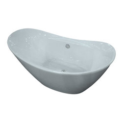 GOLDEN VANTAGE - GV Bathroom White Color FreeStanding Acrylic Bathtub - Our Contemporary European design acrylic freestanding bathtubs are more popular than ever! it adds drama to your bathroom and create a focal point to the space that many bathrooms lack, plus they are deeper than traditional build-in tubs, which allow for a more relaxing bath. All of these bathtubs use high quality acrylic material which is durable and light weight, some model come with an overflow design. GV bathtubs are as pleasing to the eye as they are to soak in.