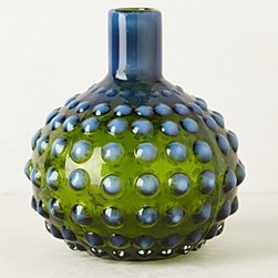 Anthropologie - Mouth-Blown Hobnail Vase - *Glass