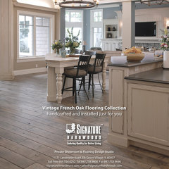 modern wood flooring by Signature Innovations LLC