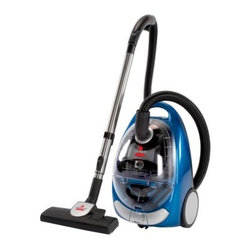 Bissell OptiClean Cyclonic Canister Vacuum 66T61 - Powerful cleaning comes in a small package with the Bissell OptiClean Cyclonic Canister Vacuum 66T61. This bagless vacuum uses cyclonic technology to provide continuous suction and remove deep dirt and debris. Additional Features: Overall dimensions: 19W x 12D x 35H inches 17-foot cord; 10.6-inch cleaning path Clean filter indicator Automatic cord rewind Weight: 15 lbs. 1-year limited warranty About BissellMelville Bissell patented the BISSELL carpet sweeper in 1876 once of the first mechanical sweepers ever conceived. Shortly after he built the first Bissell manufacturing plant in Michigan and began assisting Americans and the world suck it up and tackle the confounding and unhealthy problem of dust-laden carpets and floors. Remaining a technology and trend innovator in the field of home cleaning solutions for the next 100+ years Bissell remains committed to bringing you the most advanced effective and practical solutions for keeping your home clean.