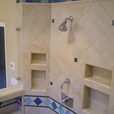 Traditional Bathroom by Jennifer Pfaff