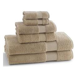 Elegance Bath Towels- Desert Sand - Elegance Bath Towels- Desert Sand