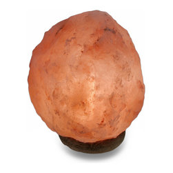 Zeckos - Natural Shaped Himalayan Rock Salt Accent Lamp Night Light - This simplistically beautiful accent lamp is made from natural Himalayan rock salt that helps neutralize the air as the light bulb warms the salt, restoring well-being, reducing moodiness and feelings of anxiety and despair. With a natural shape, it measures approximately 7 inches high, 5.5 inches long, 6 inches wide (18 X 14 X 15 cm), and uses 1 night light style 120 volt bulb (included), and easily turns on or off using the in-line thumb-wheel switch on the 75 inch long white cord. This natural mineral lamp is great for use as a night light, and makes a wonderful gift whether it's a housewarming, a home party, or just to keep for yourself.