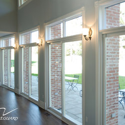 Traditional screen doors find storm doors and retractable Custom vinyl windows online