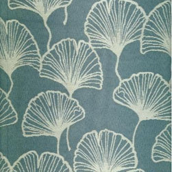 Fluttering Fans Fabric - I'd love this delicate print on a formal Louis settee to make it a little more modern.