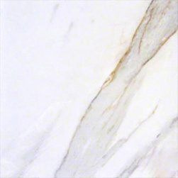 Tilesbay.com - Sample of 24x24 Polished Pietra Calacatta Porcelain Tile - Pietra Calacatta 24x24 Polished Porcelain Tile is a sweeping white and cream porcelain with darker elegant veins of gray and browns. It is recommended for interior applications and is available in a wide variety of tile sizes for ultimate coordination for flooring and backsplashes in kitchens, bathrooms and foyers.