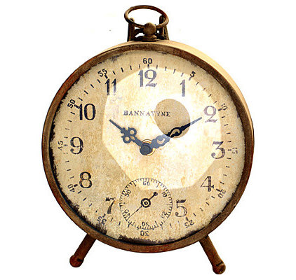 Eclectic Clocks by Wicker Emporium