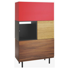modern storage units and cabinets by Habitat