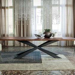 Cattelan Italia | Spyder Wood Dining Table -