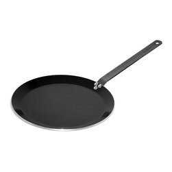 BergHOFF - BergHOFF Hotel Line 12 in. Non-Stick Pancake Pan Multicolor - 1103969 - Shop for Griddles & Grill Pans from Hayneedle.com! Built to be durable the BergHOFF Hotel Line 12 in. Non-Stick Pancake Pan can last you for many years. Featuring a ferno non-stick cooking surface this pan helps you cook well and avoid burning your food. You can use this oven-safe pan for cooking on all cook tops including induction. The steel handle stays cool for a long time during cooking and gives you a firm grip on the pan. Additionally this dishwasher-safe pan is easy to clean and hygienic as well.