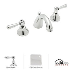 "Rohl - Rohl A2707LMAPC-2 Polished Chrome Country Bath Verona Low Lead - Verona Low Lead Widespread Bathroom Faucet with Pop-Up Drain and Metal Lever HandlesRohl's Verona collection from the Country Bath suite is the blend of two worlds for the improvement of yours. While the look of Rohl's Verona collection remains firmly rooted in Italian design, it connects with modern-day needs, with its selection of lead-free bathroom faucets. This means healthier water for you and your family, while maintaining a look that's unmistakably beautiful. Rohl's Verona collection includes bathroom faucets, tub fillers, bidets, and shower faucets.Rohl A2707LM-2 Features:All brass faucet body construction - weight: 8.5 lbs.Hand-machined from solid brass stockIndustry leading, 1/4 turn lifetime ceramic disc valveSuperior finishing process – chemical, scratch, and stain resistantNumber of installation holes required: 3Center-to-center distance between handle installation holes (faucet centers): 8""Installs onto decks up to 1-27/32"" thickMetal lever handles includedOverall height: 4-31/32"" (measured from counter top to highest point of faucet)Spout height: 4-15/64"" (measured from counter top to faucet outlet)Spout reach: 5"" (measured from center of faucet base to center of faucet outlet)Low lead compliant – complies with federal and state regulations for lead contentDesigned for use with standard U.S. plumbing connectionsExtra secure mounting assemblyAll necessary mounting hardware includedFully covered under Rohl's limited lifetime warrantyManufactured in New Zealand, Western Europe, and/or North AmericaVariations:A2707LM-2 - This modelA2707XM-2 - Same model with metal cross handlesAbout Rohl:Excellence, durability, and beauty. Family values, integrity, and innovation. These are all terms which aptly describe"