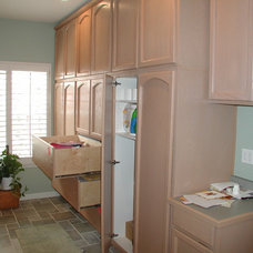 Traditional Laundry Room by ProBilt Construction LLC