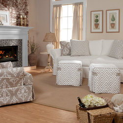 Slipcover Furniture - Four Seasons Furniture