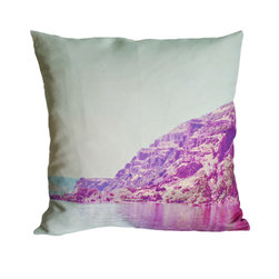 Plumed - Palisades - The photography pillow line at Plumed is inspired by a love of both travel and landscape. Each pillow cover features an image from our personal collection. We love the modern-vintage feel of the muted and subdued tones that are a signature to this line. We hope that these pillows will inspire some serious daydreaming. Designed by Christine Dinsmore.
