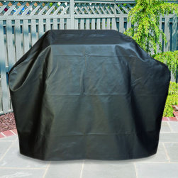 None - Mr. BBQ Platinum Prestige 58-inch Grill Cover - This Mr. BBQ Platinum Prestige 58-inch Grill Cover protects your grill from dirt, dust, rain, snow and much more. This eco-friendly cover features a Velcro closure to make sure the cover stays on the grill.