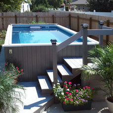 Contemporary Swimming Pools And Spas by Endless Pools