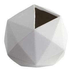 Cyan Design - Astronomical Vase - Medium astronomical vase - matte white