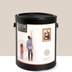 Imperial Paints - Eggshell Wall Paint, Gallon Can, Buff Beige - Overview: