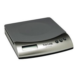 Taylor - Digital Kitchen Scale - Taylor Digital Kitchen Scale - 11 lb/5 kg capacity in 0.1 oz/1 g increments