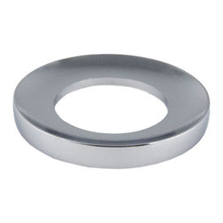 Eden Bath - Eden Bath MR01CR Vessel Sink Mounting Ring - Chrome - Vessel sink mounting ring for use with glass vessel sinks  or any bowl shaped vessel sink that does not have a flat bottom. The mounting ring goes between your glass vessel sink  and the countertop.
