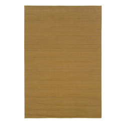 "Style Haven - Polypropylene Laguna Indoor/Outdoor Area Rug (5'3"" x 7'6"") - This simple indoor/outdoor rug brings a natural feel to any room. Made of highly-resilient polypropylene, this 5'3 x 7'6 rug is a great piece to spruce up your outdoor space. The casual beige color allows it to blend with most home furnishings."