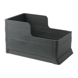 RATIONELL Pull-out waste sorting tray - Pulls out completely for easy access to bins.