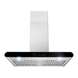 None - AKDY 30-inch OSWRH508A-30-AK Wall Mount Stainless Steel Range Hood - Bring beautiful function to your kitchen with this stainless steel range hood. This kitchen necessity features digital touch controls for ease of use and comes with a mounting kit for quick installation.