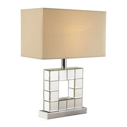 Trans Globe Lighting - Trans Globe Lighting RTL-8866 Table Lamp In Polished Chrome - Part Number: RTL-8866