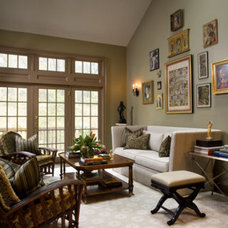 traditional living room by Terrat Elms Interior Design