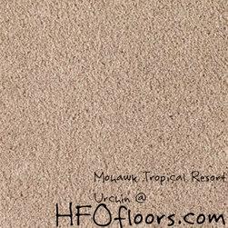 Mohawk Tropical Resort - Mohawk Tropical Resort, Urchin Trixeta PET blend 12' carpet.