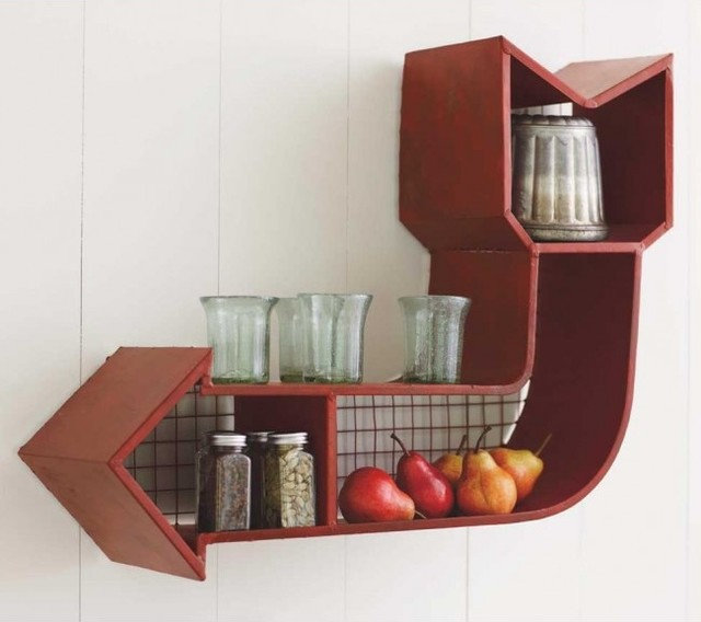 Eclectic Wall Shelves by VivaTerra
