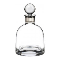 Waterford - Waterford Elegance Short Decanter with Round Stopper - The Waterford Elegance Collection is a crowning achievement of craftsmanship and the pinnacle of elite fine wine and spirits enjoyment. The Waterford Elegance Collection features hand-made crystal to suit every wine varietal. Each crystal Elegance stem is uniquely contemporary in design, with a clear, delicate bowl, deep V plunge, crisp rim, pulled stem and flawlessly modern profile.