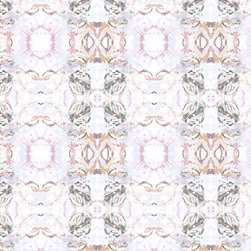 Fabric - 411 peach taupe fabric.  Available in various fabrications for sale by the yard and swatch.