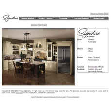 Traditional Kitchen Cabinetry Signature by Omega